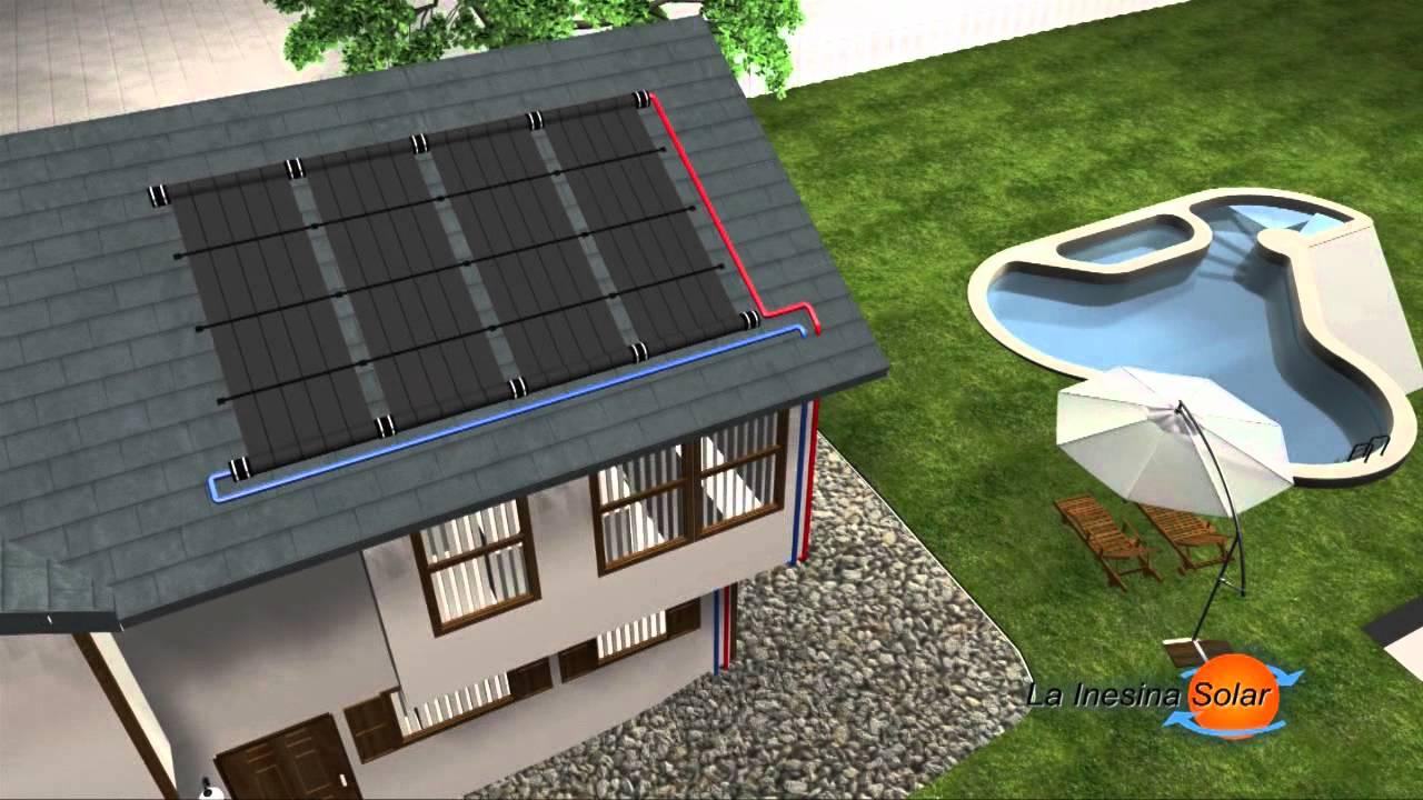 Sistema de calefaccion para piscinas la inesina solar - Sistemas de calefaccion ...