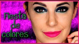 Tutorial Maquillaje Ahumado azul y verde Intensos  #146 | Silvia Quiros