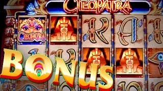 CLEOPATRA Bonuses on 5c IGT Video slot game