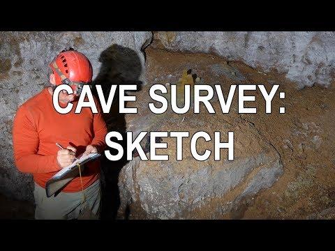 Cave Survey - Sketching