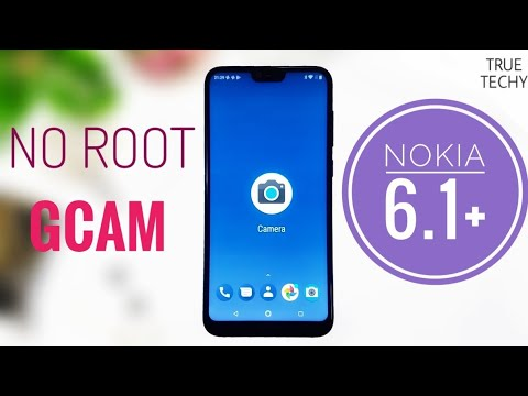 Nokia 6 1 Plus Google Camera Install Without Root,Camera 2 Api  Enable,Portrait mode Review