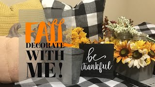 Farmhouse Fall Decor | Fall Decorate With Me | Fall Home Decor 2018