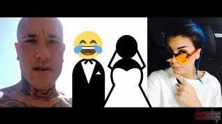 Il calciatore Radja Nainggolan e Claudia Lai sposi, ma è solo per finta