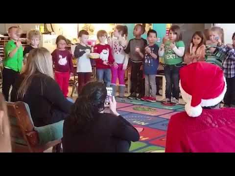 Cedar road christian academy kids singing
