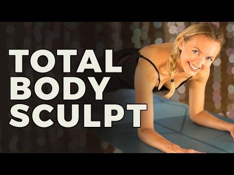 Total Body Sculpt | Full Body Tone and Stretch Workout (Yoga Sculpt Series)
