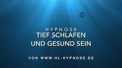 Schnell und tief einschlafen und gesund sein - Hypnose