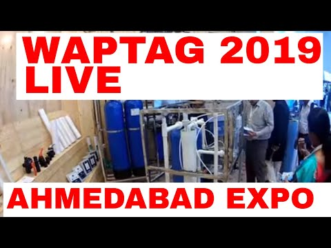REVERSE OSMOSIS WATER BIGGEST EXPO WAPTAG 2019 AHMEDABAD