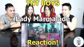 TNT Boys as Christina Aguilera, Pink and Mya | Lady Marmalade | Reaction - Australian Asians