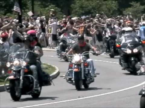 Forbes Rides With Rolling Thunder on Memorial Day Weekend