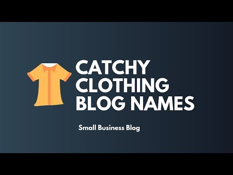 MINDBLOWING CLOTHING BLOG NAMES
