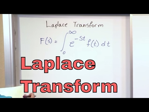 Lesson 1 - Laplace Transform Definition (Engineering Math)