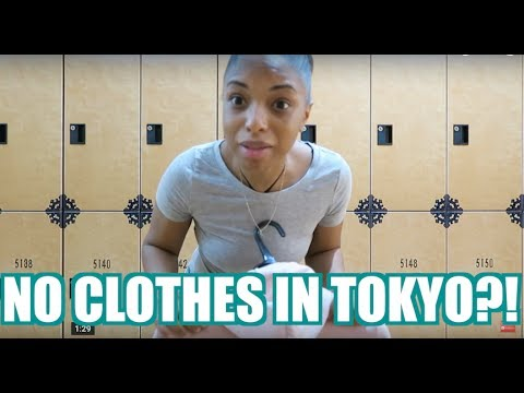 NO CLOTHES IN TOKYO?! | ROCHELLE'S TOKYO TRAVEL VLOG