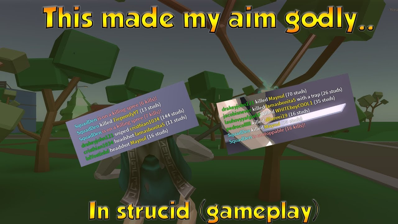 This made my aim godly in strucid...(Strucid Gameplay)