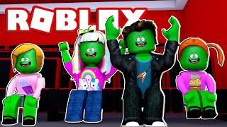 Zombie Roblox Family | Movie Night Routine In Bloxburg!