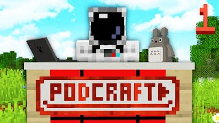 PODCRAFT #1 - LE PODCAST MINECRAFT ! (Le Film Minecraft, Minecraft Earth et Cryptomonaies)