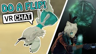 Wanna See Me Flip Again??? VRChat Funny Moments Twitch Clips ZING
