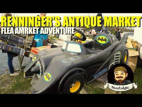Flea Market Adventure #71 RENNINGER'S ANTIQUE MARKET Denver PA.