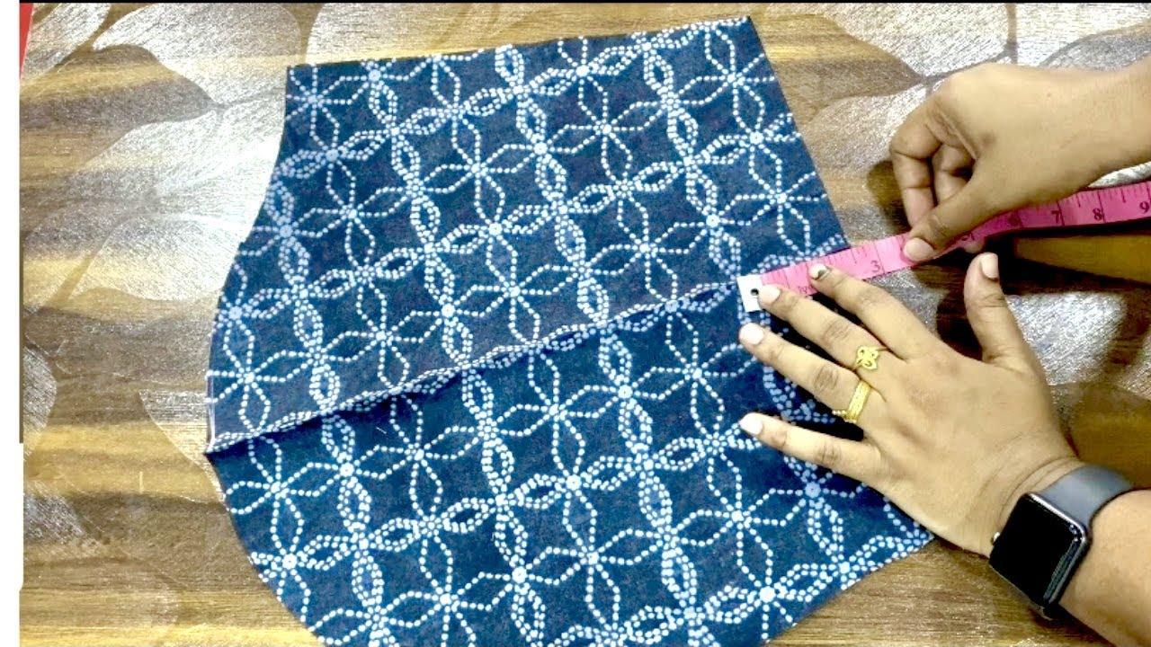 Beautiful Fancy Sleeves Cutting& Stitching.