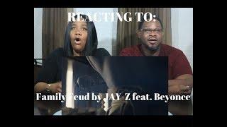 JAY-Z Family Feud ft. Beyoncé REACTION