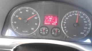 Разгон VW CADDY 2.0 Ecofuel