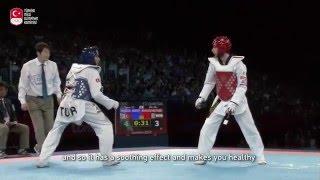 """Milli taekwondocumuz Servet Tazegül """"Bir kez daha Olimpiyat şampiyonu olmak istiyorum"""""""