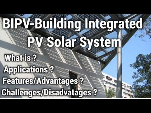 BIPV Building Integrated Solar PV System | BIPV Solar Panels | BIPV Solar Technology