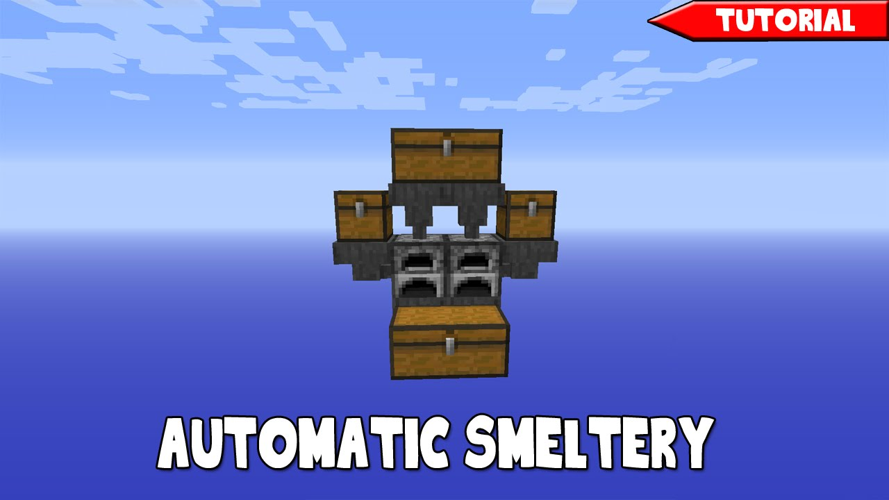 How To Build A Smelter Minecraft