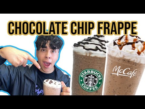 How To Make A Chocolate Chip Frappe! (Like Starbucks And McDonald's) New 2020 DIY Frappe!