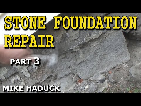 Stone foundation repair outside part 3 of 5 mike haduck youtube stone foundation repair outside part 3 of 5 mike haduck solutioingenieria Images