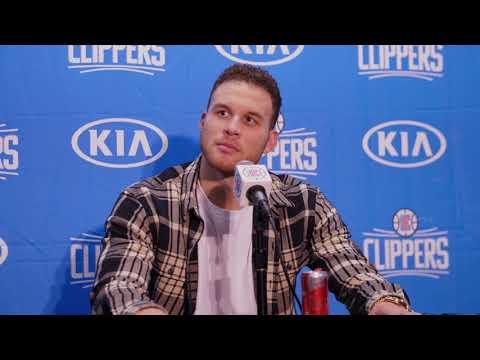 Blake Griffin Postgame Press Conference vs. Rockets   1-15-18