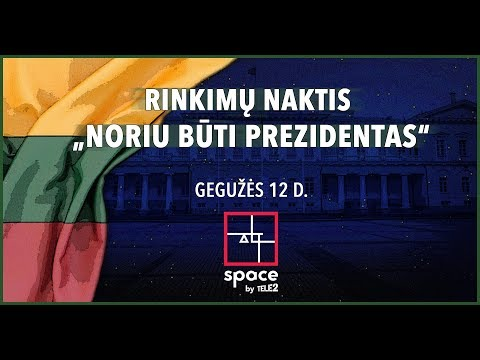 """Rinkimų naktis su Laisvės TV – """"Noriu būti Prezidentas"""""""