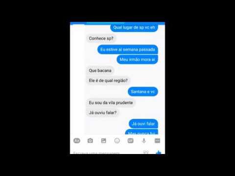 Conversando Com Uma Desconhecida No Facebook Youtube