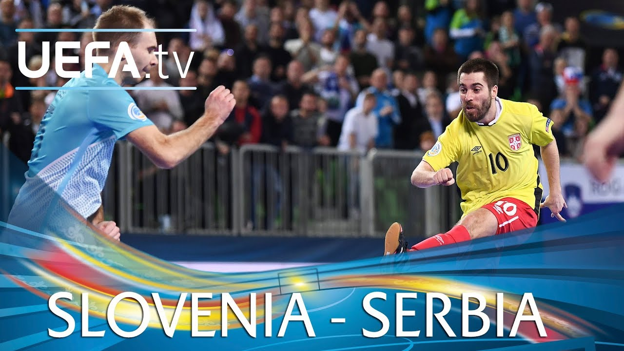 Futsal EURO highlights  Slovenia v Serbia - YouTube 1a81737df3521