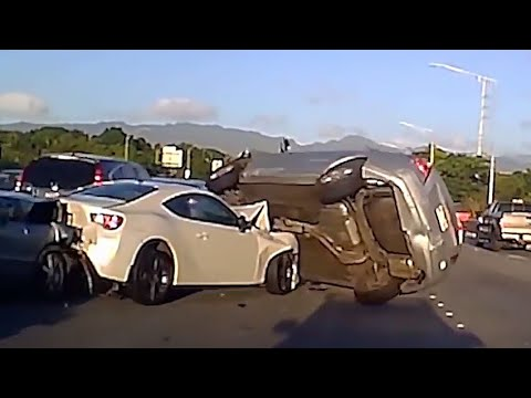Best of Dashcam fails - (#6) - Bad and Idiots drivers, Car Crashes Compilation accidents !!