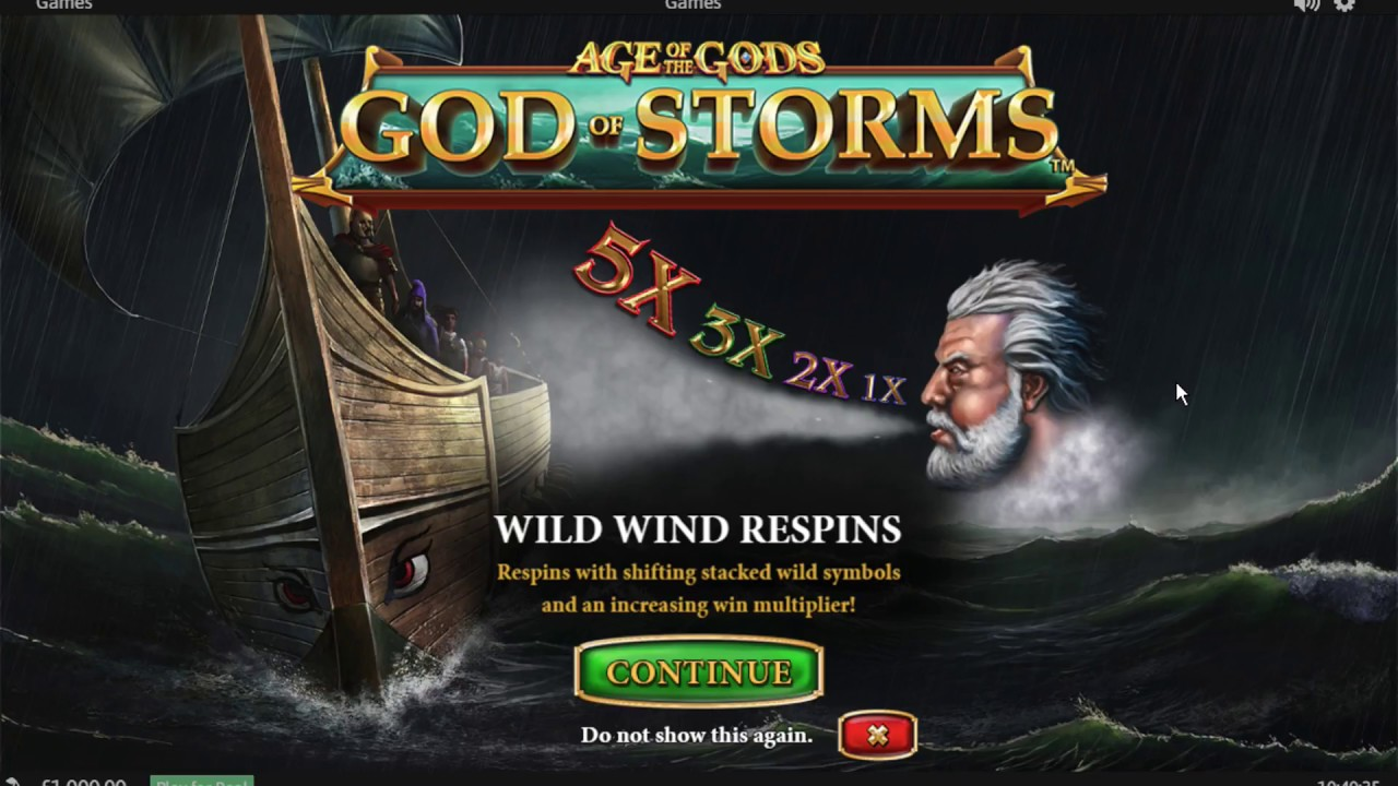 age of gods god of storms free play