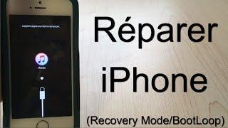 ReiBoot | Réparer son iPhone bloqué en Recovery Mode/Pomme d'Apple (BootLoop)