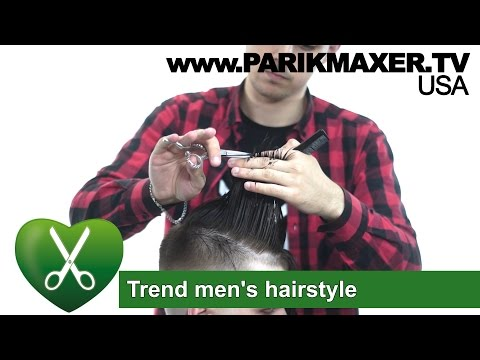Trend Men`s Hairstyle 2017 Parikmaxer TV USA