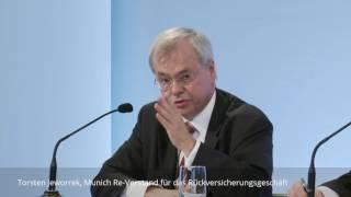 Munich-Re-Vorstand Jeworrek: Cyber-Versicherung wächst vor allem in den USA