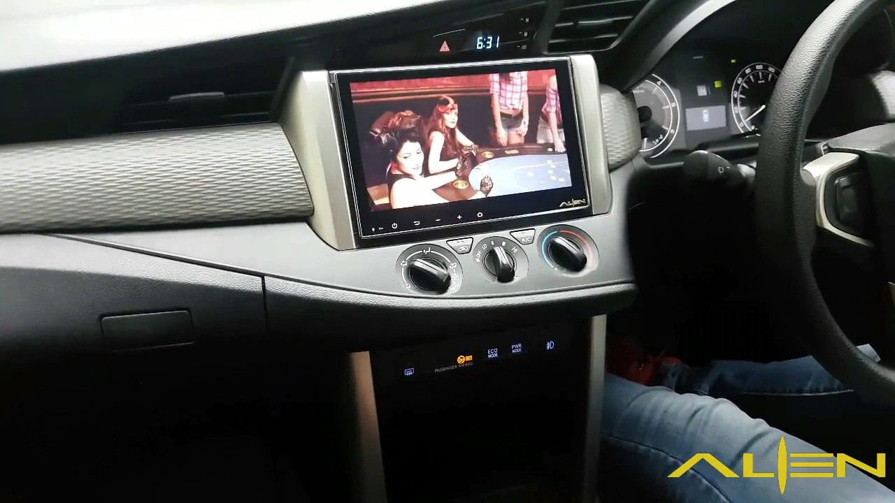 Alien Android Car Infotainment System For Toyota Innova Crysta Youtube