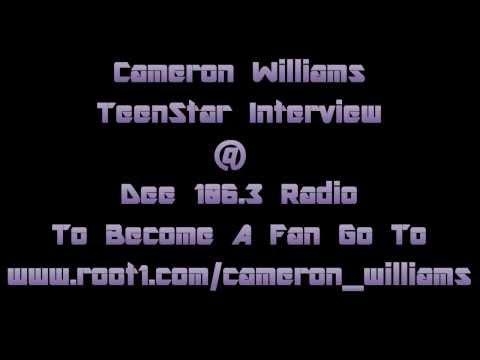Cameron Williams TeenStar Grand Final Interview