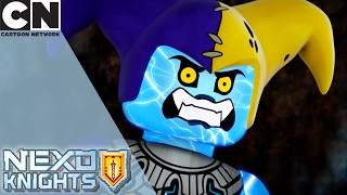 NEXO Knights | Miner Setback | Cartoon Network