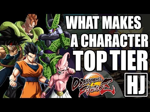 What Makes A Top Tier Character In Dragon Ball FighterZ RANT