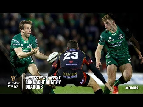 Guinness PRO14 Round 8 Highlights: Connacht Rugby v Dragons