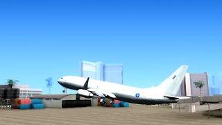 GTA San Andreas - Boeing 737 800 Royal Air Force