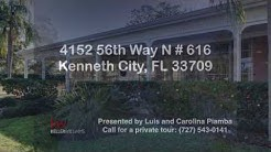 4152 56th Way N APT 616, Kenneth City, FL 33709 | Homes for Sale in Kenneth City