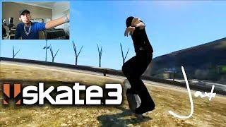 Reacting to Skate 3 MODS