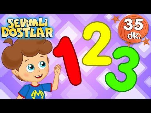 Sayılar şarkısı Ve Devamında 30 Dk Sevimli Dostlar Bebek Şarkıları | Adisebaba TV Kids Songs