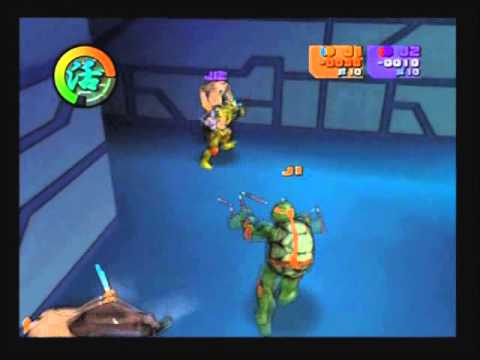 Les Navets Jouables - Teenage Mutant Ninja Turtles 2 : Battle Nexus et Mini Desktop Racing