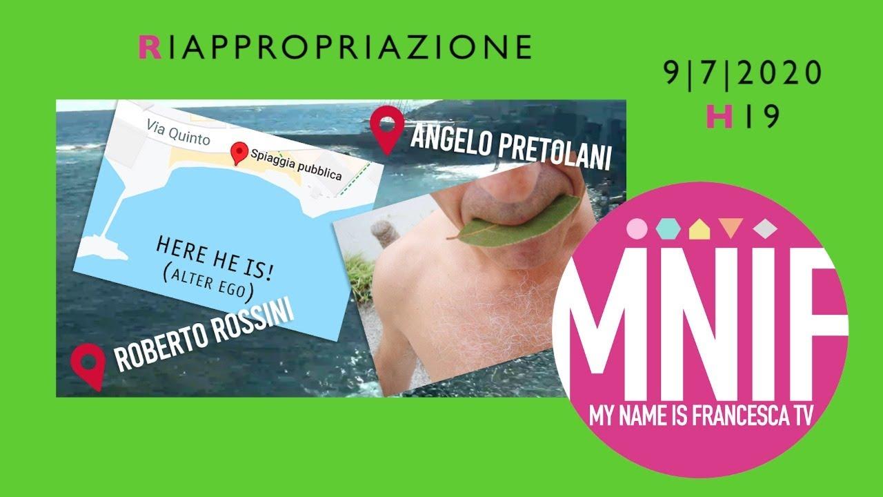 MNIF TV presenta il nuovo format RIAPPROPRIAZIONE