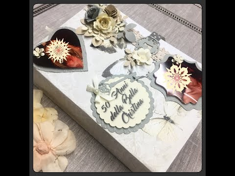 FOTO ALBUM SCRAP SHABBY CHIC